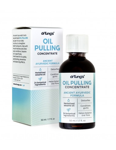 Oil Pulling Concentrate Box and Bottle