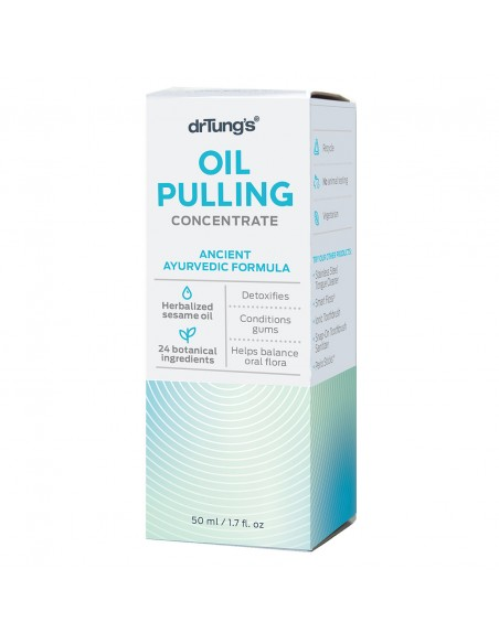 Oil Pulling Concentrate Front of Box