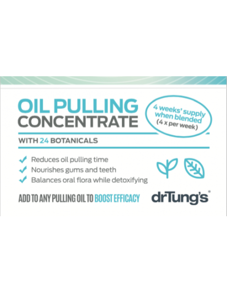 Oil Pulling Concentrate 4 week supply